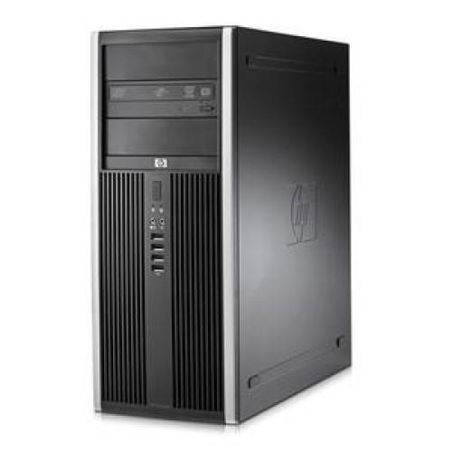 Calculator SH HP Compaq 8000 Elite Tower, Intel Core2 Duo E8400, 3.0GHz, 4 GB DDR 3, 250GB SATA, DVD-RW