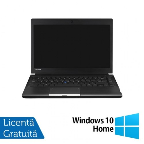 Laptop Toshiba Portege R30, Intel Core i5-4310M 2.70GHz, 4GB DDR3, 250GB SATA, 13 Inch + Windows 10 Home, Refurbished