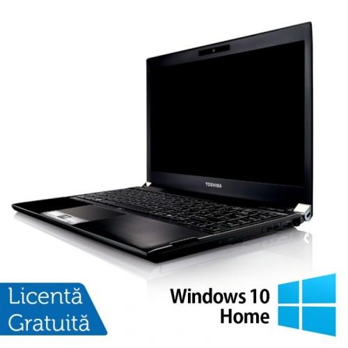 Laptop Toshiba Portege R830-13C, Intel Core I5-2520M 2.50GHz, 8GB DDR3, 120GB SSD, 13.3 inch, HDMI, Card Reader + Windows 10 Home, Refurbished