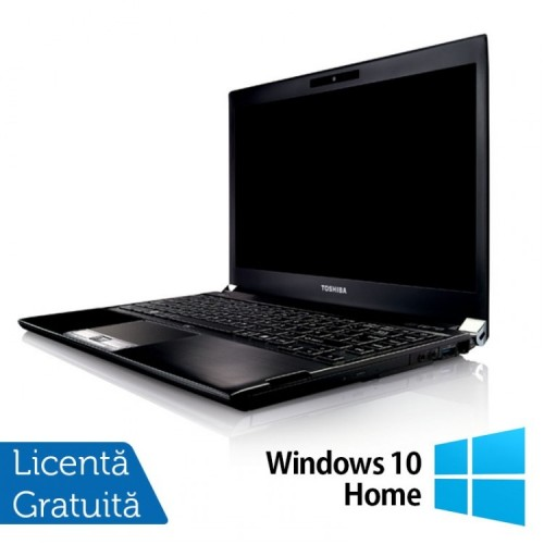 Laptop Toshiba Portege R830-13C, Intel Core I5-2520M 2.50GHz, 8GB DDR3, 240GB SSD, 13.3 inch, HDMI, Card Reader + Windows 10 Home, Refurbished