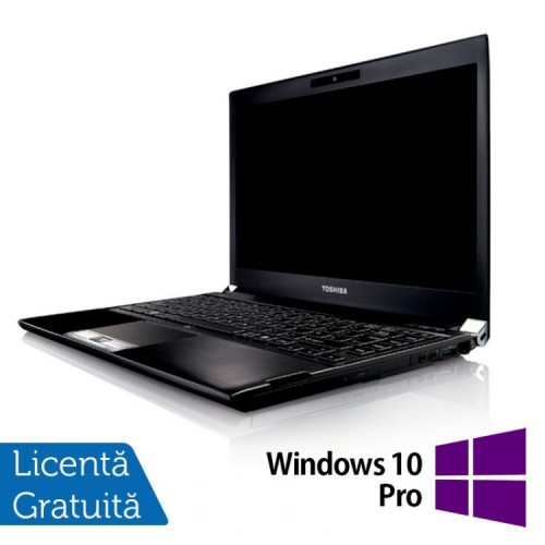 Laptop Toshiba Portege R830-13C, Intel Core I5-2520M 2.50GHz, 8GB DDR3, 240GB SSD, 13.3 inch, HDMI, Card Reader + Windows 10 Pro, Refurbished