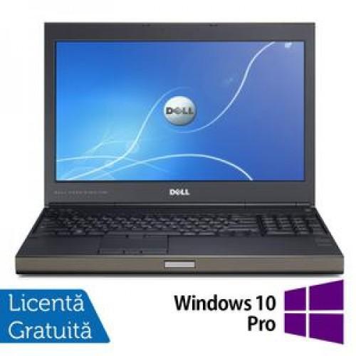 Laptop DELL Precision M4700, Intel Core i7-3520M 2.9GHz, 16GB DDR3, 320GB SATA,DVD-RW, nVidia Quadro K2000M + Windows 10 Pro