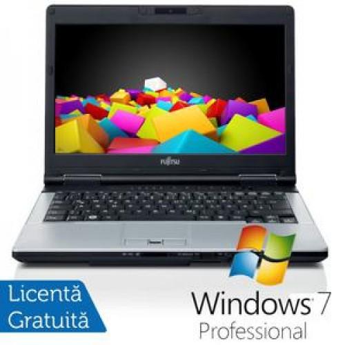 Fujitsu LIFEBOOK S751 Notebook, Intel Core i3-2310M 2.1Ghz, 4Gb DDR3, 320Gb, DVD-RW, Bluetooth, WebCam, Wi-fi + Windows 7 Pro