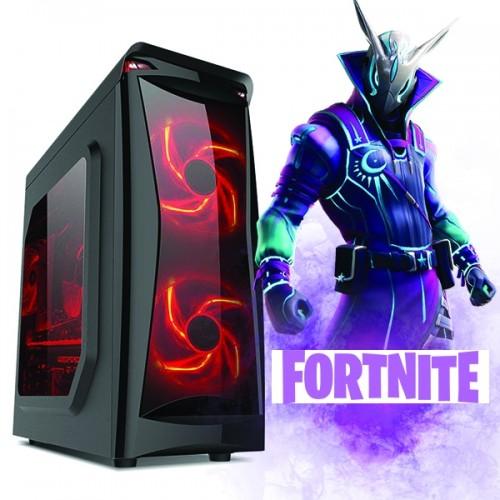Calculator Gaming Fortnite Tower Intel Core i7-3770 3,40GHz , Video NVIDIA GFORCE GTX 74X 4GB DDR 128 BITS,8Gb DDR3, 500 GB HDD  - GTA5, CS-GO, Fortnite