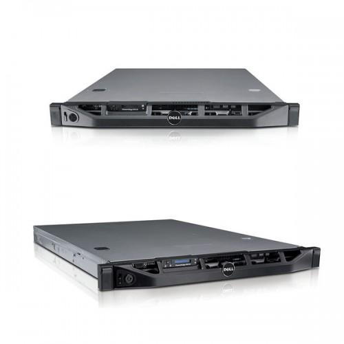 Server SH Dell PowerEdge R410,Intel Xeon Quad Core E5220, 2.33Ghz, 16Gb DDR3 ECC, 2x 146Gb SAS, DVD-ROM, fara RAID