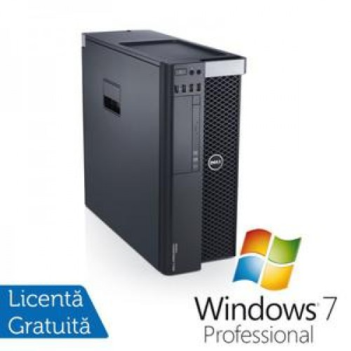 Dell T3600, Intel Xeon Quad Core E5-1607 3.0Ghz, 32Gb DDR3 ECC, 1Tb SATA, DVD-RW, nVidia Quadro 4000 + Windows 7 Professional