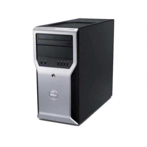 Workstation Dell Precision T1600, Intel Xeon Quad Core E3-1225 3.10GHz - 3.40GHz, 8GB DDR3, 500GB HDD, nVidia GT 605 1GB, DVD-RW, Second Hand