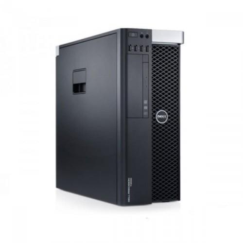 Workstation DELL Precision T3600 Intel Xeon Hexa Core E5-1650 3.20GHz-3.80 GHz 12MB Cache, 24 GB DDR3 ECC, 2TB HDD SATA, Placa Video Nvidia Quadro 4000 2GB/GDDR5/256biti