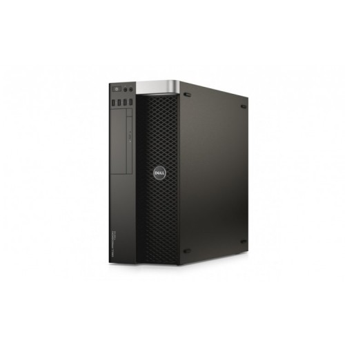 Workstation Refurbished DELL Precision T3610 Intel Xeon Quad Core E5-1620V2 3.70GHz-3.90 GHz, 16GB DDR3 ECC, 1TB HDD SATA, DVD-ROM + Placa video NVIDIA QUADRO K2000 2GB/GDDR5 + Windows 10 Home