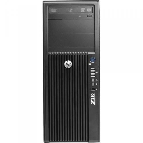 Workstation Refurbished HP Z210, Intel Xeon Quad core E3-1240, 3.3 Ghz-3.70GHz, 8GB DDR3, 500GB HDD, DVD-ROM, GeForce GT 605 1GB + Windows 10 PRO