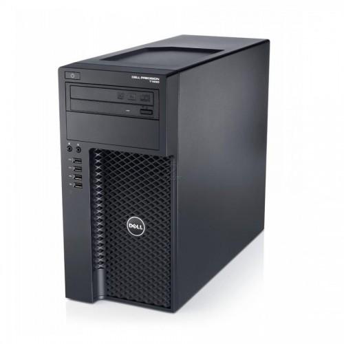 WorkStation second hand Dell Precision T1650 Intel i7-3770 3.4GHz up to 3.9GHz Quad-Core 8Gb DDR3 256GB SSD DVD Nvidia Quadro 600 1GB Dedicat Tower