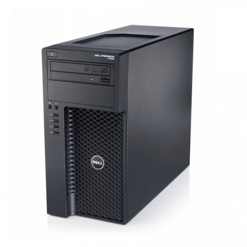 WorkStation second hand Dell T1650 XEON E3-1225 V2-3.20GHz 16GB DDR3 500GB HDD DVD-ROM TOWER