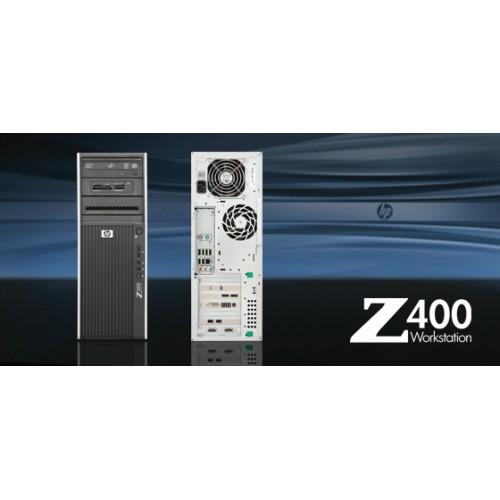 Workstation Hp Z400 Intel Xeon Quad Core W3530, 2.8Ghz, 8Mb Cache 6Gb DDR3 ECC, 1Tb HDD, DVD-RW