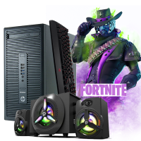 Calculator Gaming Fortnite + Boxe Gaming cadou HP Pro 705 G1 Tower Generatia 4 Pro 7300B 3.7GHz, 8Gb DDR3, 500Gb SATA DVD Video 2Gb DDRx 128Bits - Fortnite, GTA5, CS-GO