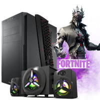 Calculator Gaming Fortnite + Boxe Gaming cadou Intel Core i5 2400 Quad 3.10 - 3.40GHz 8Gb DDR3, 500Gb SATA DVD Video 2Gb DDRx 128Bits - Fortnite, GTA5, CS-GO